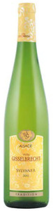 Willy Gisselbrecht Tradition Sylvaner 2011, Alsace Bottle