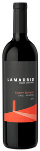 Lamadrid Single Vineyard Cabernet Sauvignon 2010, Agrelo, Luján De Cuyo, Mendoza Bottle