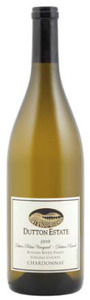 Dutton Estate Dutton Palms Vineyard Chardonnay 2010, Russian River Valley Bottle