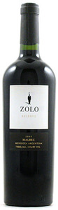 Zolo Reserve Malbec 2008, Uco Valley, Mendoza Bottle