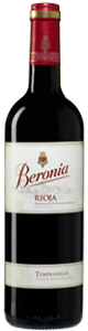 Beronia Tempranillo 2010, Rioja Bottle