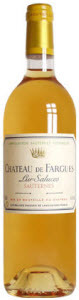 Château De Fargues 2010, Ac Sauternes Bottle