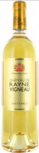 Château De Rayne Vigneau 2010, Ac Sauternes Bottle