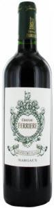 Château Ferrière 2010, Ac Margaux Bottle