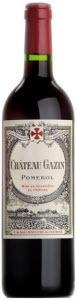 Château Gazin 2010, Ac Pomerol Bottle