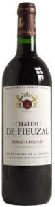 Château De Fieuzal 2010, Ac Pessac Léognan Bottle
