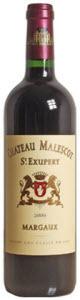 Château Malescot St. Exupéry 2010, Ac Margaux Bottle