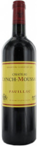 Château Lynch Moussas 2010, Ac Pauillac Bottle
