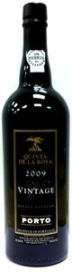 Quinta De La Rosa Vintage Port 2009 Bottle