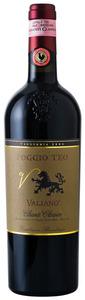 Valiano Poggio Teo Chianti Classico 2008, Docg Bottle