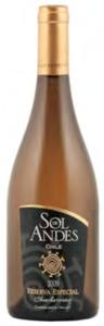 Sol De Andes Reserva Especial Chardonnay 2009, Casablanca Valley Bottle