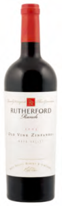 Rutherford Ranch Old Vine Zinfandel 2009, Napa Valley Bottle