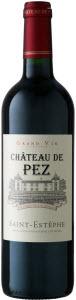 Château De Pez 2009, Ac Saint Estèphe Bottle