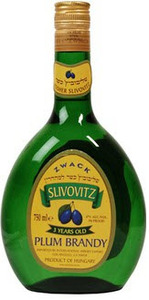 Zwack Unicum Slivovitz 3 Yr Old Bottle