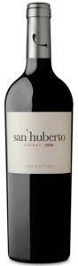 San Huberto Malbec, La Rioja 2010 Bottle