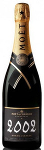 Moët & Chandon Grand Vintage Brut Champagne 2002 Bottle