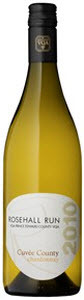 Rosehall Run Unoaked Chardonnay Cuvée County 2011, VQA Prince Edward County Bottle