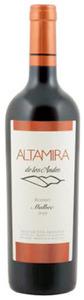 Altamira De Los Andes Reserve Malbec 2009, Uco Valley, Mendoza Bottle