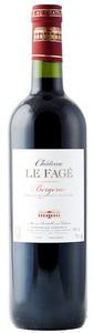 Château Le Fagé Bergerac Rouge 2011, Ac Bottle