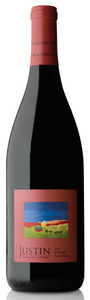 Justin Syrah 2010, Paso Robles Bottle