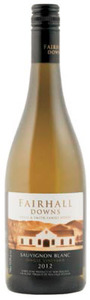 Fairhall Downs 'single Vineyard' Sauvignon Blanc 2012, Southern Valleys, Marlborough Bottle