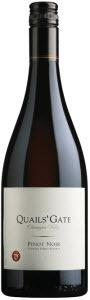 Quails' Gate Stewart Family Reserve Pinot Noir 2010, Okanagan Valley Bottle