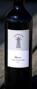 Pelee Island Lighthouse Merlot VQA 2010 2010 Bottle