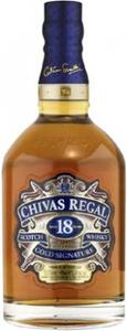 Chivas Regal   18 Year Old Gold Signature Bottle