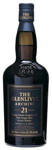 Glenlivet   21 Year Old Archive Bottle