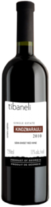 Tibaneli Single Estate Kindzmarauli, Kindzmarauli Bottle