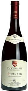 Pommard   Roux Pere & Fils 2009 Bottle