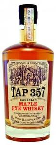 Tap 357   Maple Rye Whisky Bottle