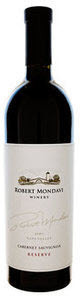 Robert Mondavi Reserve Cabernet Sauvignon 2008, Napa Valley Bottle