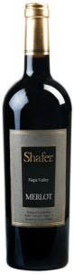 Shafer Merlot 2010, Napa Valley Bottle