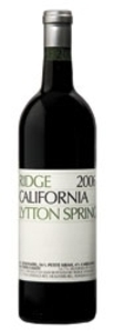 Ridge Lytton Springs 2010, Dry Creek Valley Bottle