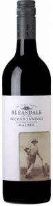Bleasdale Second Innings Malbec 2010, Langhorne Creek Bottle