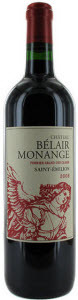Chateau Belair Monange 2008 Bottle
