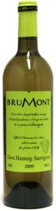 Brumont Gros Manseng Sauvignon 2010, Cote De Gascogne Bottle