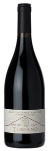 Kingston Family Vineyards Tobiano Pinot Noir 2009, Casablanca Valley Bottle