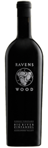 Ravenswood Big River Single Vineyard Zinfandel 2008, Alexander Valley, Sonoma County Bottle