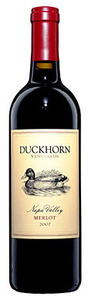 Duckhorn Merlot 2010, Napa Valley Bottle
