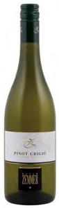 Peter Zemmer Pinot Grigio 2011, Doc Alto Adige Bottle