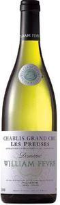 Domaine William Fèvre Chablis Les Preuses Grand Cru 2011 Bottle