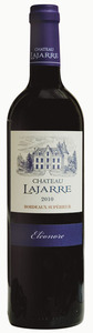 Château Lajarre Cuvée Eléonore 2010, Ac Bordeaux Supérieur Bottle