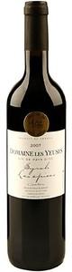 Domaine Les Yeuses Les Épices Syrah 2010, Igp Pays D'oc Bottle