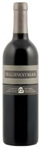 Highway 12 Highwayman 2010, Sonoma County Bottle