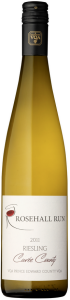 Rosehall Run Cuvee County Riesling, VQA Prince Edward County Bottle
