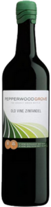 Pepperwood Grove Old Vine Zinfandel 2011, California Bottle