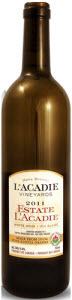 L'acadie Vineyards Estate L'acadie 2011, Nova Scotia Bottle