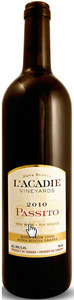 L'acadie Vineyards Passito 2010, Annapolis Valley Bottle